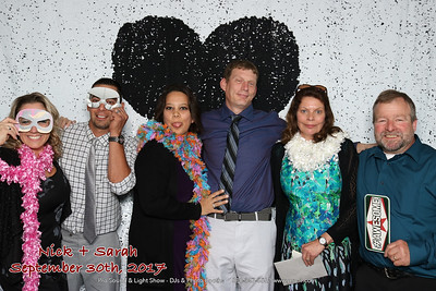 Photo booth at Duluth DECC Wedding