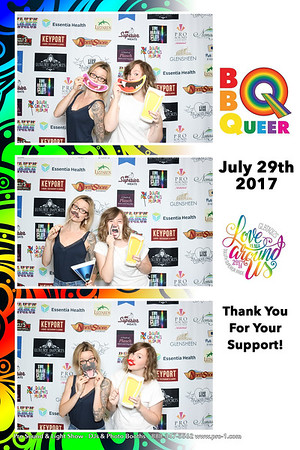 BBQueer Pride Fundraiser Duluth Photo Booth