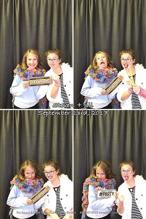 Eveleth Curling Club Wedding Photo Booth