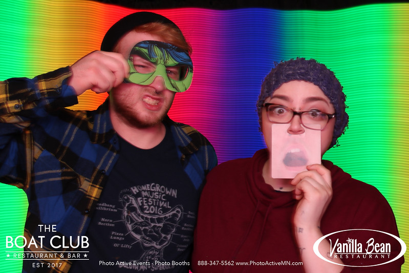 Light Painting Photo Booth at Boat Club in Duluth MN