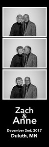 Zach & Anne's Greysolon Ballroom Photo Booth Duluth MN