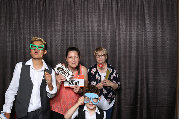 Spirit Mountain Duluth Wedding Photo Booth