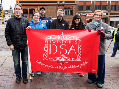 The Twin Ports DSA at The March to Dismantle the Legacy of Racism