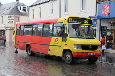 Dumfries and Galloway Council VX05BVG Charlotte St Dumfries Sep 13