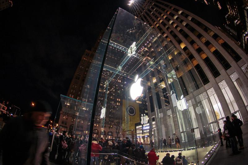 Fifth Avenue Apple Store, New York