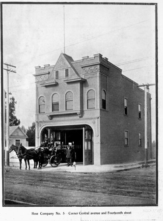 Engine Company No. 30 seen when it was Hose Company No. 5 from a corner