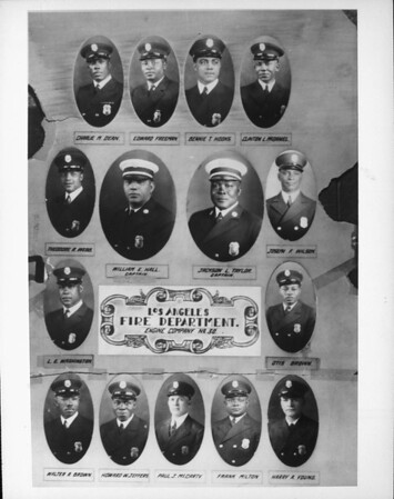 A portrait of the men of Engine Company No. 30