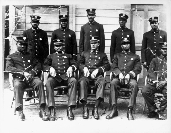 A portrait of the firemen of Engine Company No. 30