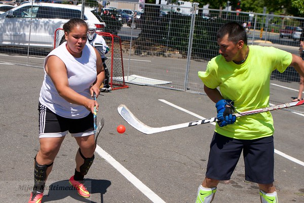 07-01-17 Canada Day - Mixed 4 on 4 Ball Hockey Tournament