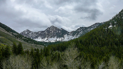 Jaqueline Peak is one of the most beautiful mountains in Idaho.