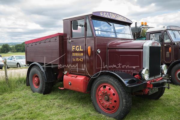 NLR 269 Scammell MV ballast tractor (1954)