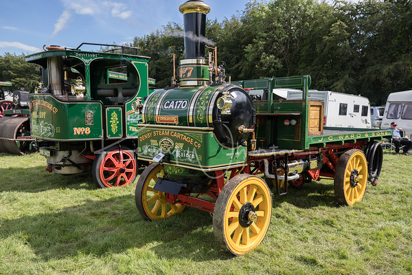 CA 170 Yorkshire Commercial No. 117 Denby Maiden 2 ton wagon (1905)