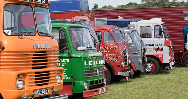 British lorry line-up