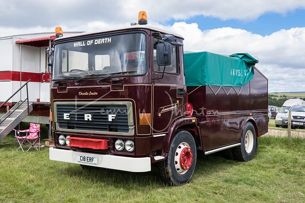 C18 ERF ERF ballast tractor