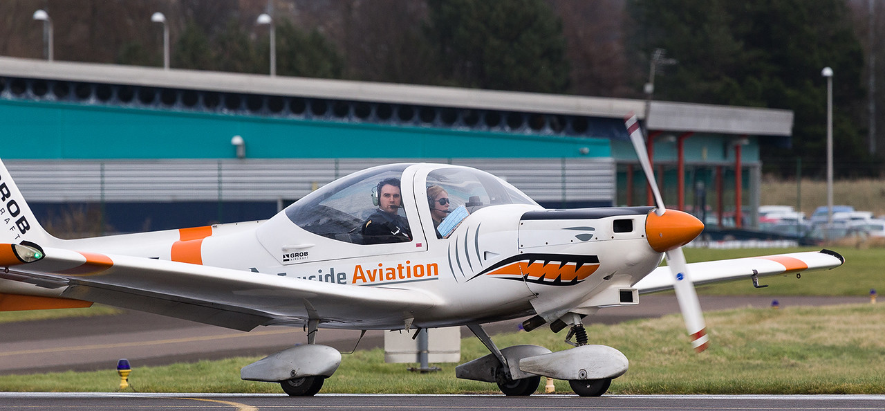 G-BVHE Grob G.115 Heron, Tayside Aviation