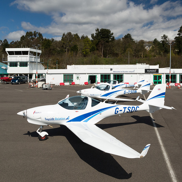 G-TSDC A.211 Aquila, Tayside Aviation