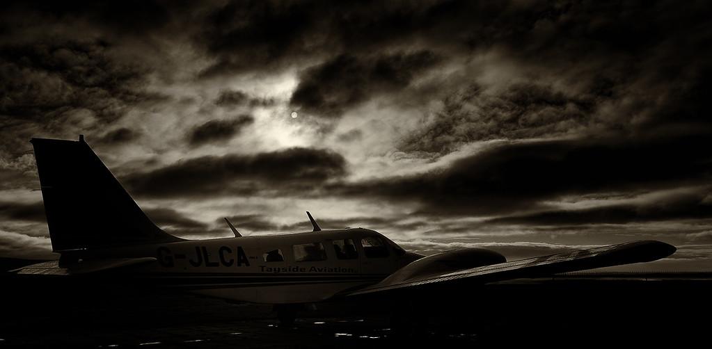 G-JLCA PA-34 Seneca, Tayside Aviation