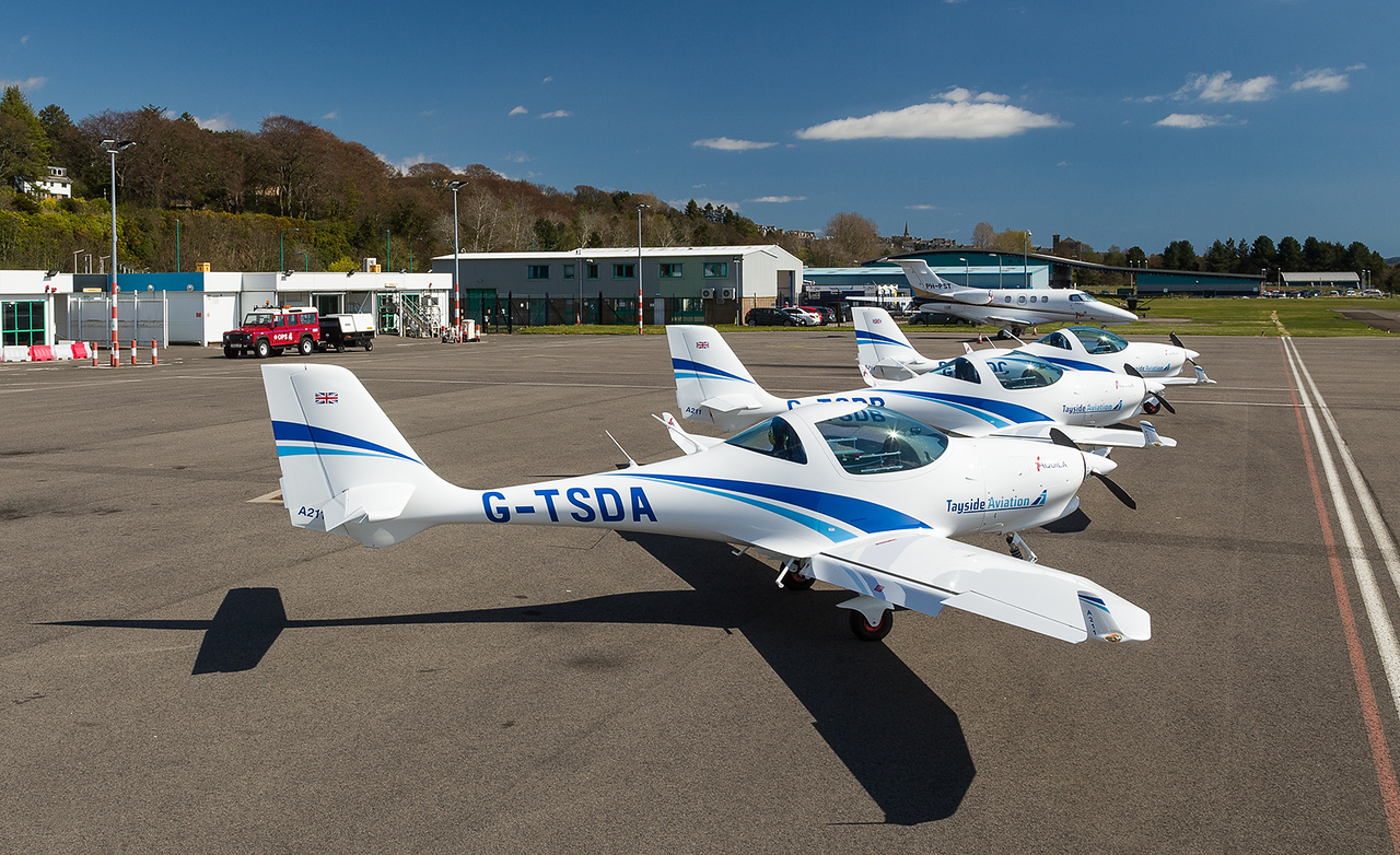 G-TSDA A.211 Aquila, Tayside Aviation