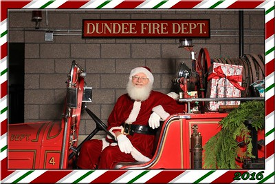 Dundee Fire Santa Photos