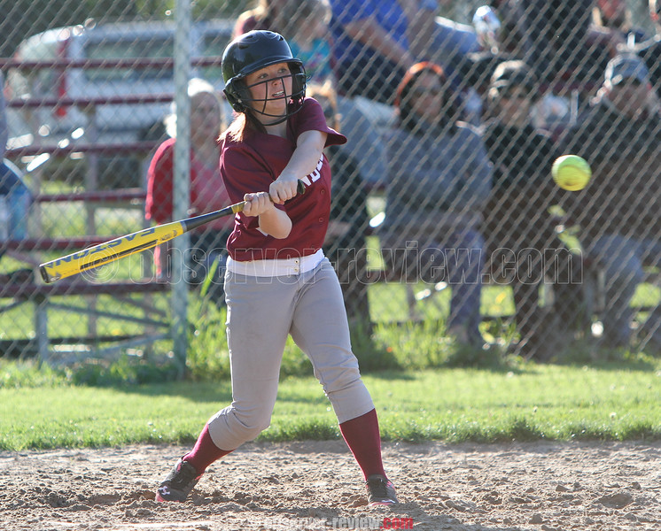 Action during the Dundee vs. South Seneca softball game, May 14, 2015.
