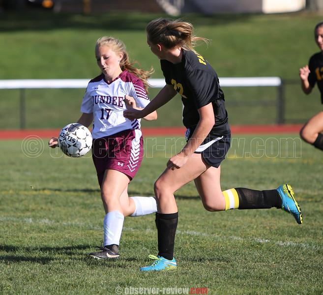 Dundee Girls Soccer 9-16-16.