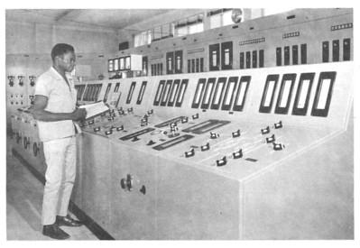 Central Hidroeléctrica do Luachimo  - sala de comando