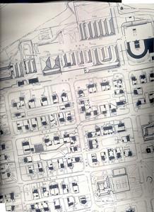 Ruas 4, 6, 8, armazens e Casa do Pessoal, Transportes, Escritorios