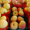 Farm market apples.