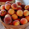 Farm market peaches.