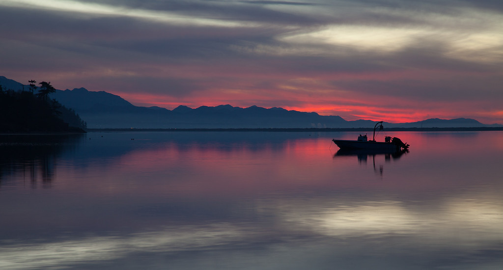 Cline Spit Sunset