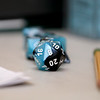 Dungeons & Dragons is becoming popular again and on Saturdays at the Stevens Memorial Library in Ashburnham you can play with Dungeon Master Zachary Sager. The game is requires dice like this one that is 20 sided. SENTINEL & ENTERPRISE/JOHN LOVE