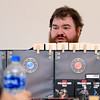 Dungeons & Dragons is becoming popular again and on Saturdays at the Stevens Memorial Library in Ashburnham you can play with Dungeon Master Zachary Sager. Sager sits behind a small wall so that the player can't see what he is doing before he tells them. SENTINEL & ENTERPRISE/JOHN LOVE
