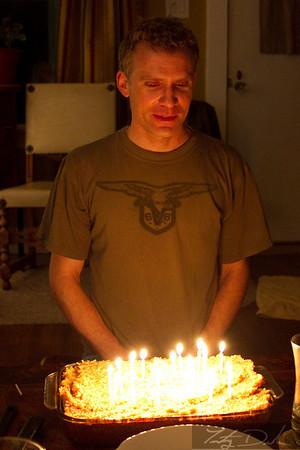 Happy birthday to you, happy birthday to you, happy birthday to, Keith, happy birthday to you!