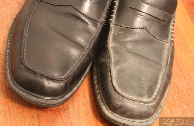 Shiny shoes for Wayne!