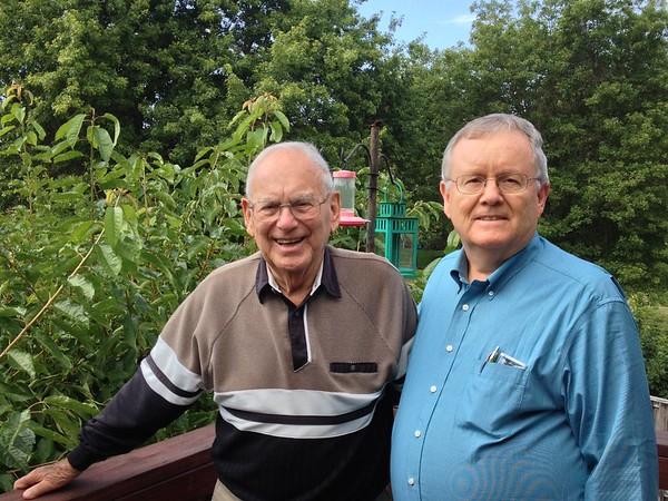 Dad & Grandpa. Summer 2014