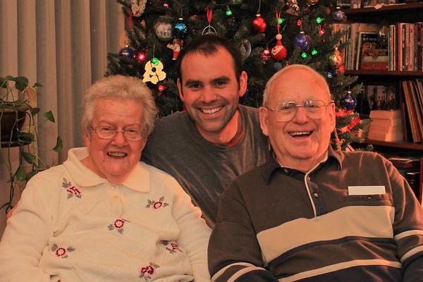 Deane, Etta & Tim Christmas 2011