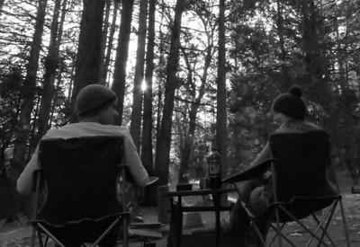 Camping in Idyllwild, California 2010