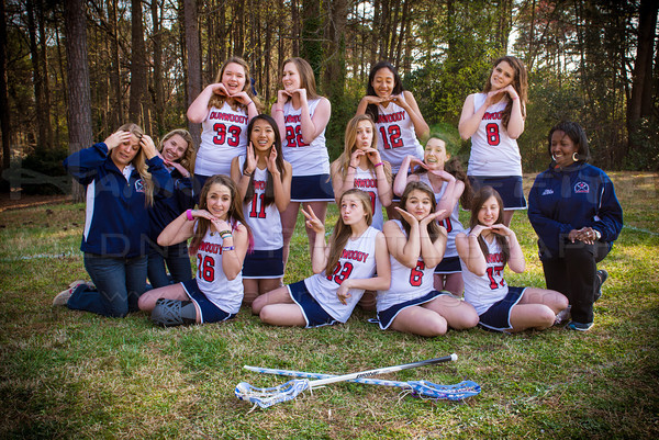 "2013 Dunwoody Girls LAX JV Team ""Silly"" & more ""SEMI-EDITS"""