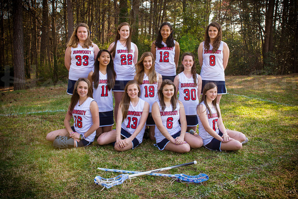 "2013 Dunwoody Girls LAX JV Team Traditional...package pick ""SEMI-EDITS"""