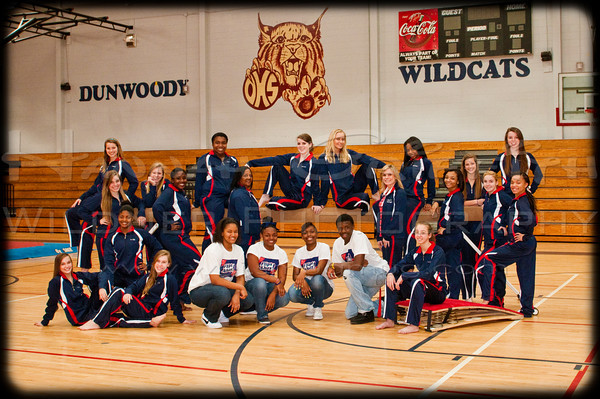Dunwoody Gymnastics Team 2011 - 2012 Yearbook