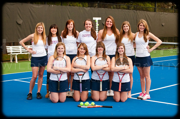 Dunwoody Tennis Team Girls 2011-2012