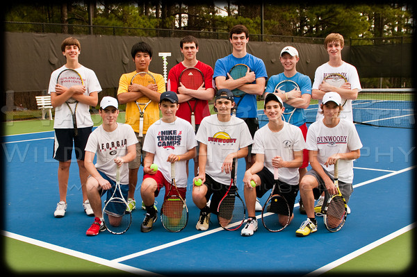 Dunwoody Tennis Team Boys 2011-2012