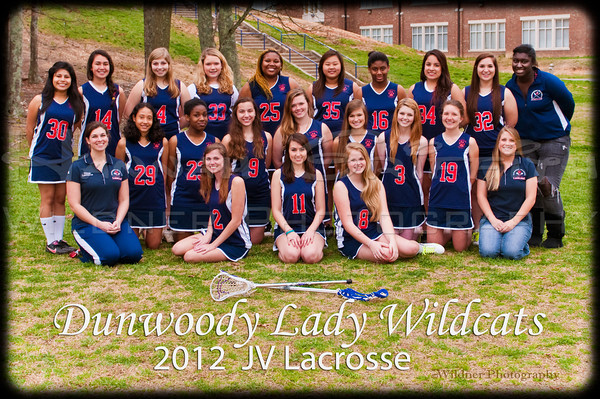 "Dunwoody LAX Team Girls 2011-2012 ""FINAL EDITS"" various croppings"