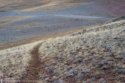 Singletrack - Herd Peak, Boulder Mountains
