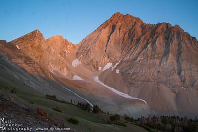 Castle Divide Sunrise - White Cloud Mountains