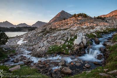 Sapphire feeds Cove - White Cloud Mountains