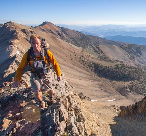 Matt on ridge