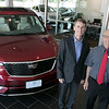 Rick Durand and Joel Baker of Baker Cadillac which will be changing it's name soon to Durand Buick GMC Friday, August 2, 2019. SENTINEL & ENTERPRISE/JOHN LOVE
