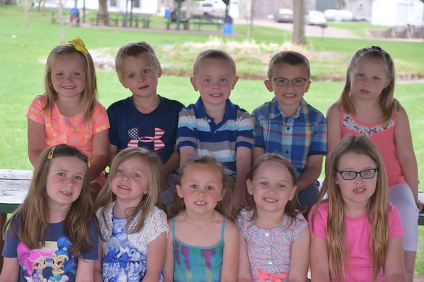 2018 Miss Durand + Little Mr. and Miss Durand candidates