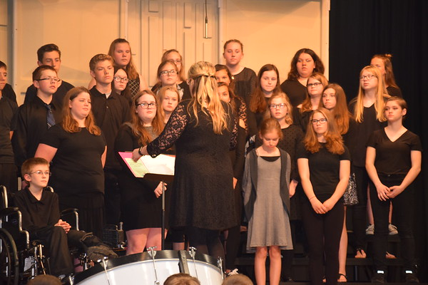 Durand Middle School Concert May 14, 2018